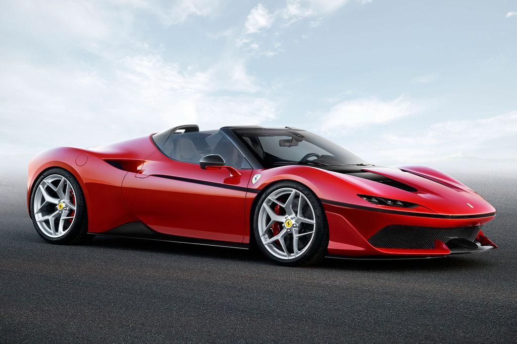 Эксклюзивный Ferrari J50