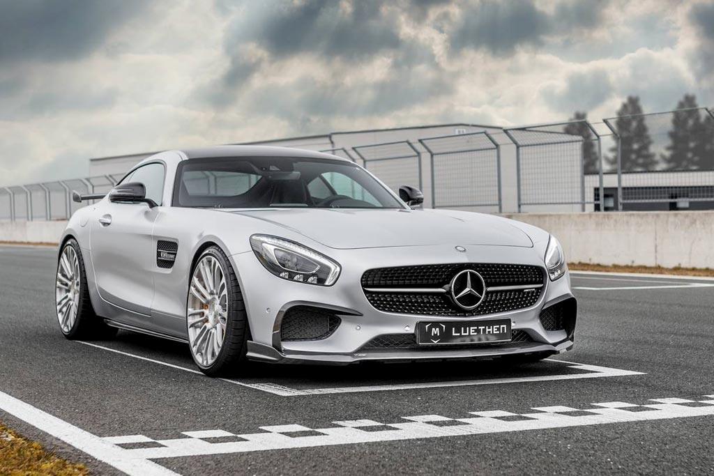 Mercedes-AMG GT в обвесе от Фото тюнинг AMG GT от Luethen Motorsport