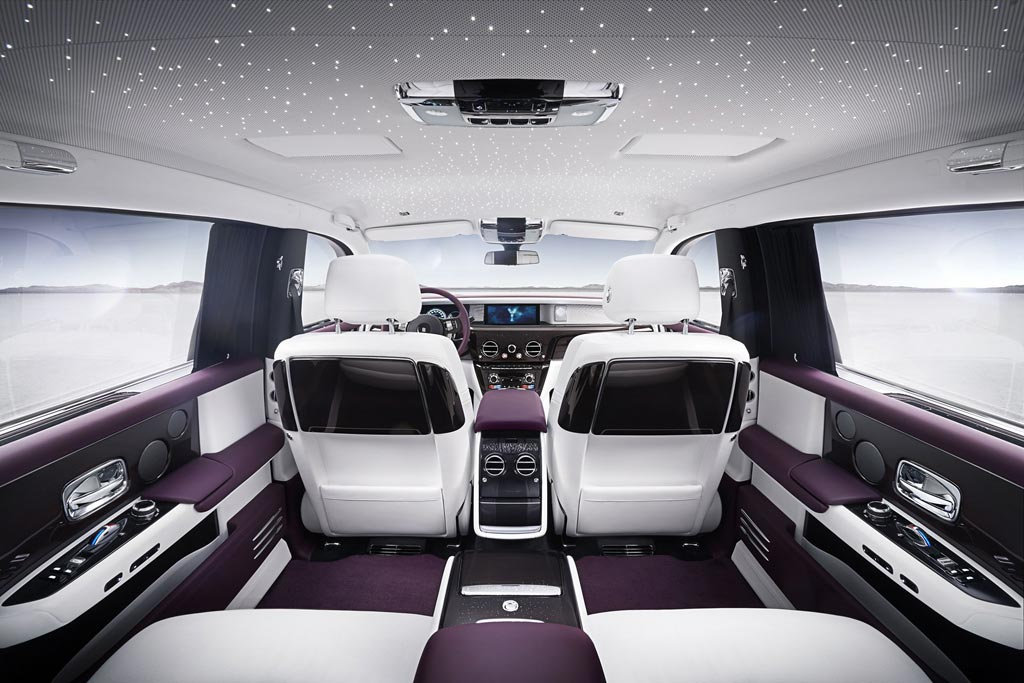 Интерьер Rolls-Royce Phantom 8