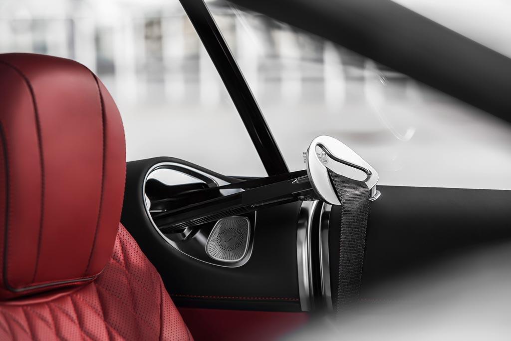 Система подачи ремня на S Coupe