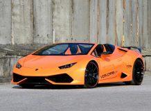 Фото тюнинг Lamborghini Huracan Spyder от VOS