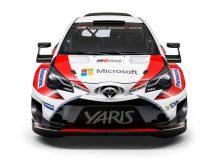 Гоночная Тойота Ярис WRC фото