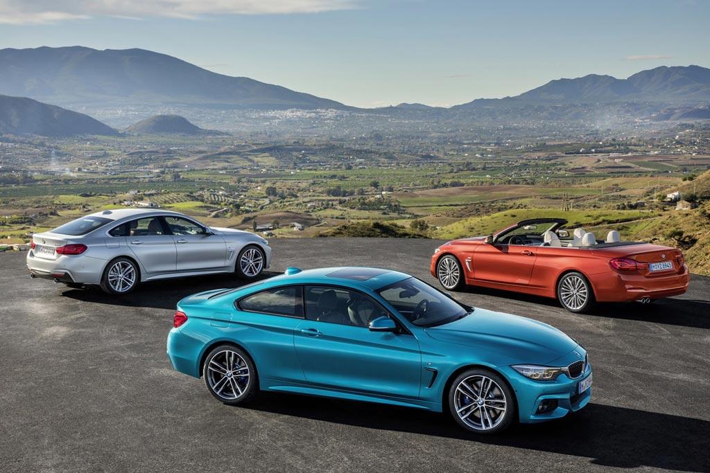 Обновленная линейка моделей BMW 4-серии