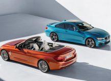 Обновленные купе и кабриолет BMW 4er