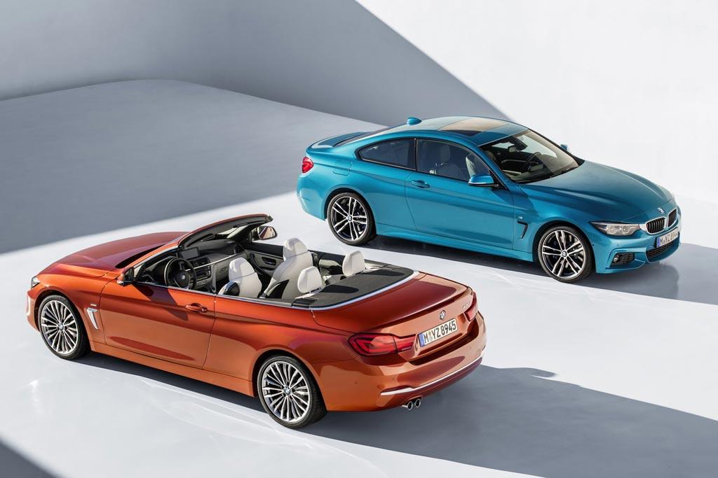Обновленные купе и кабриолет BMW 4-Series