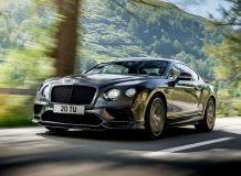 Новый Bentley Continental Supersports 2017 фото