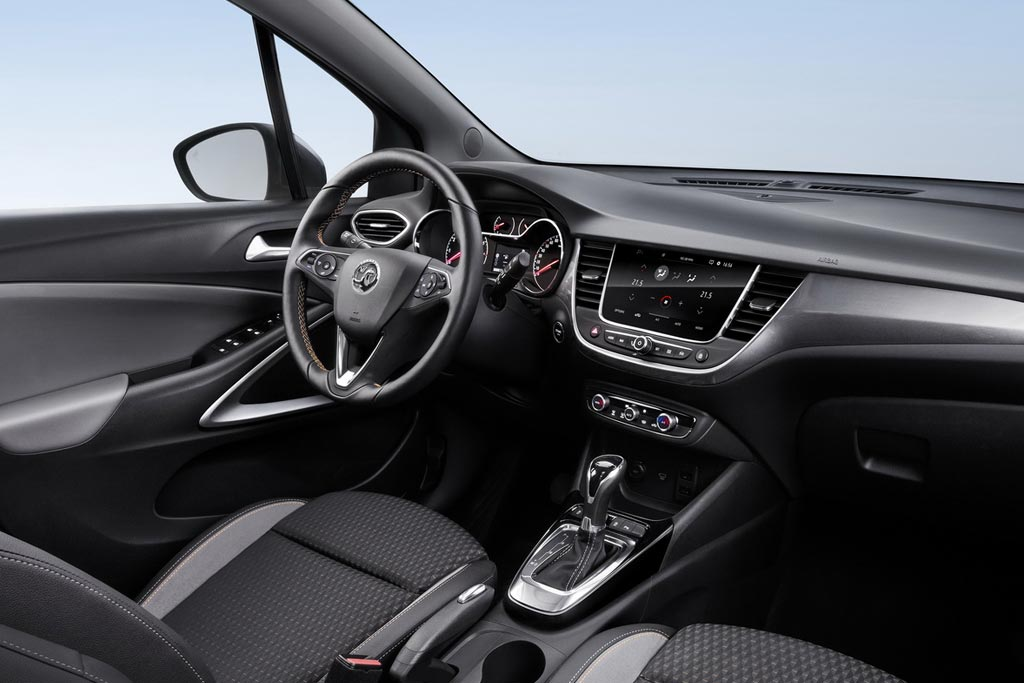 Салон Opel Crossland X