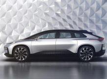 Фото электромобиля Faraday Future FF91