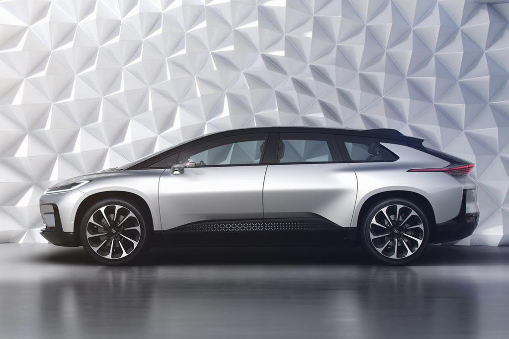 Электромобиль Faraday Future FF91