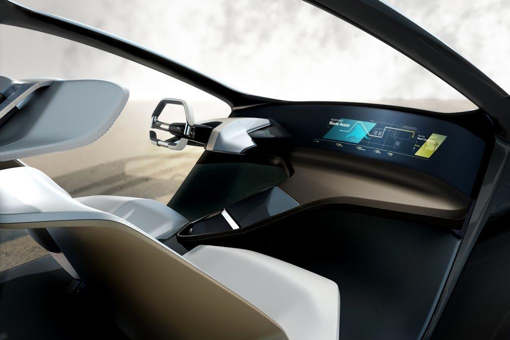 Салон концепта BMW i Inside Future