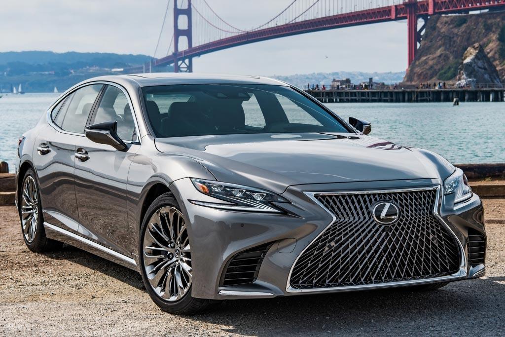 Lexus LS 500 нового поколения