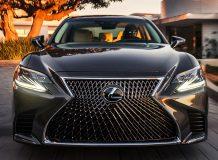 Фото Lexus LS 500 в новом кузове