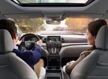 Фото салона Honda Odyssey 5 для США