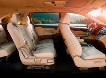 Интерьер американской Honda Odyssey V