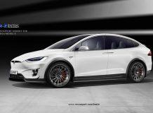 Обвес на Тесла Модель Х от RevoZport фото