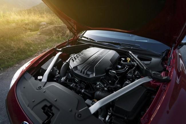 Двигатель Kia Stinger