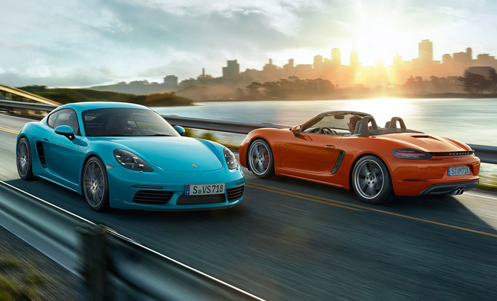 Porsche 718 Cayman и Boxster