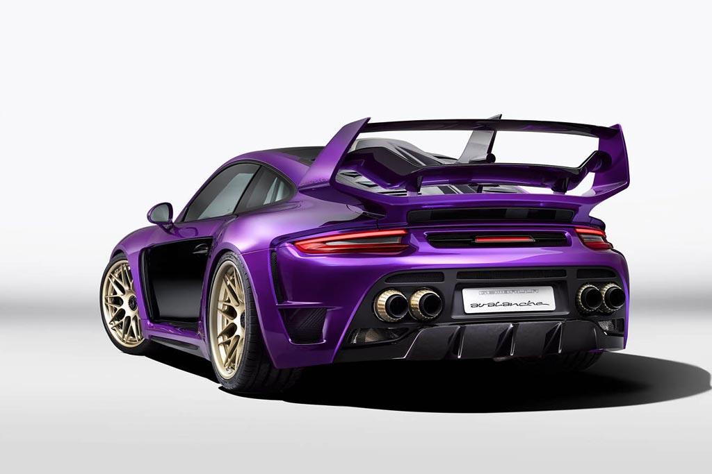 Gemballa Avalanche на базе нового 911 Turbo