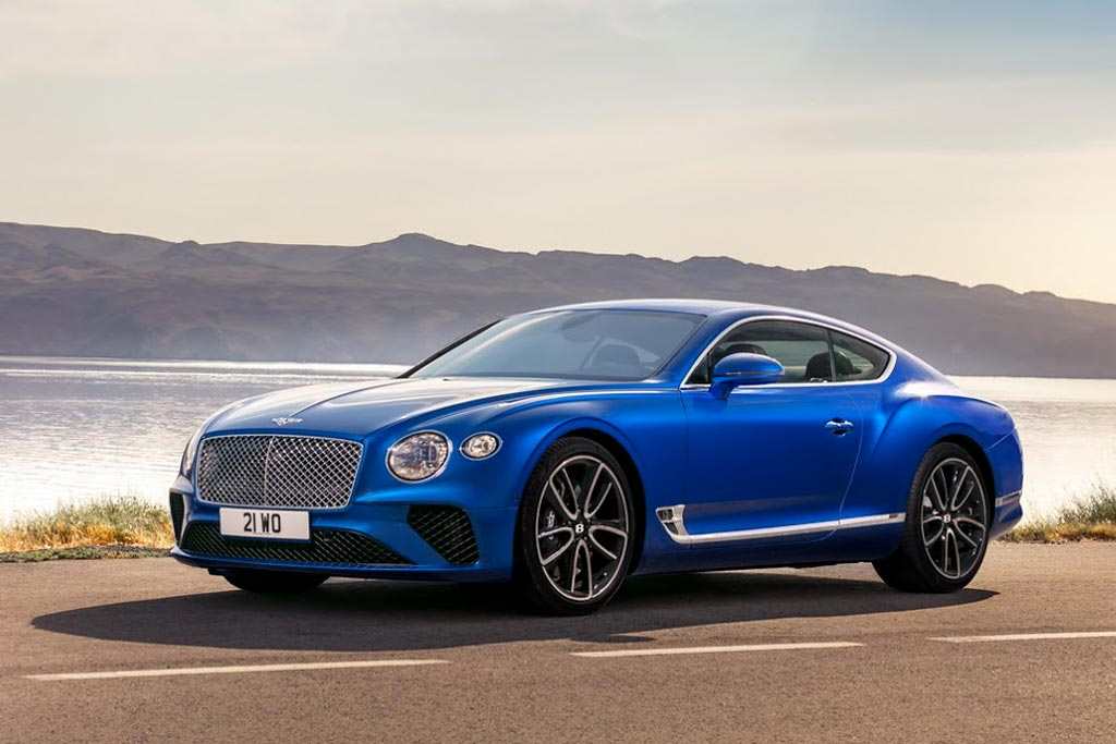 Новый Bentley Continental GT 2020