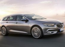 Новый Opel Insignia Sports Tourer 2017 в новом кузове