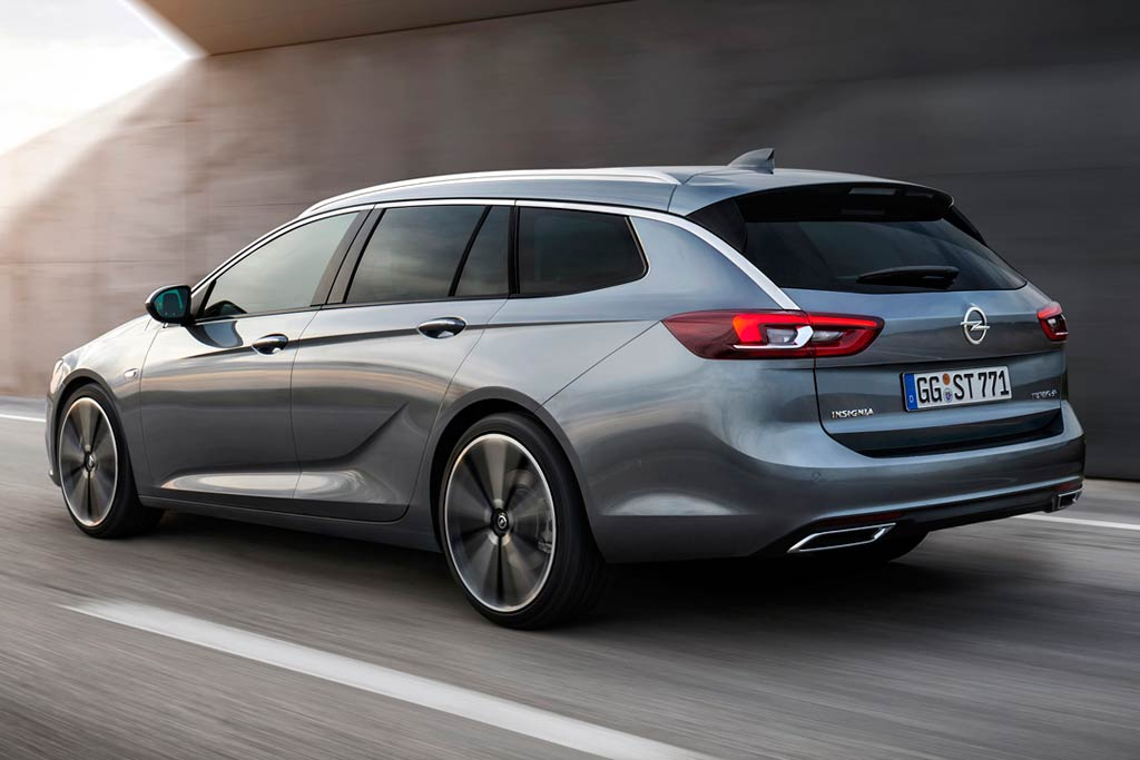 Новый Opel Insignia Sport Tourer 2017