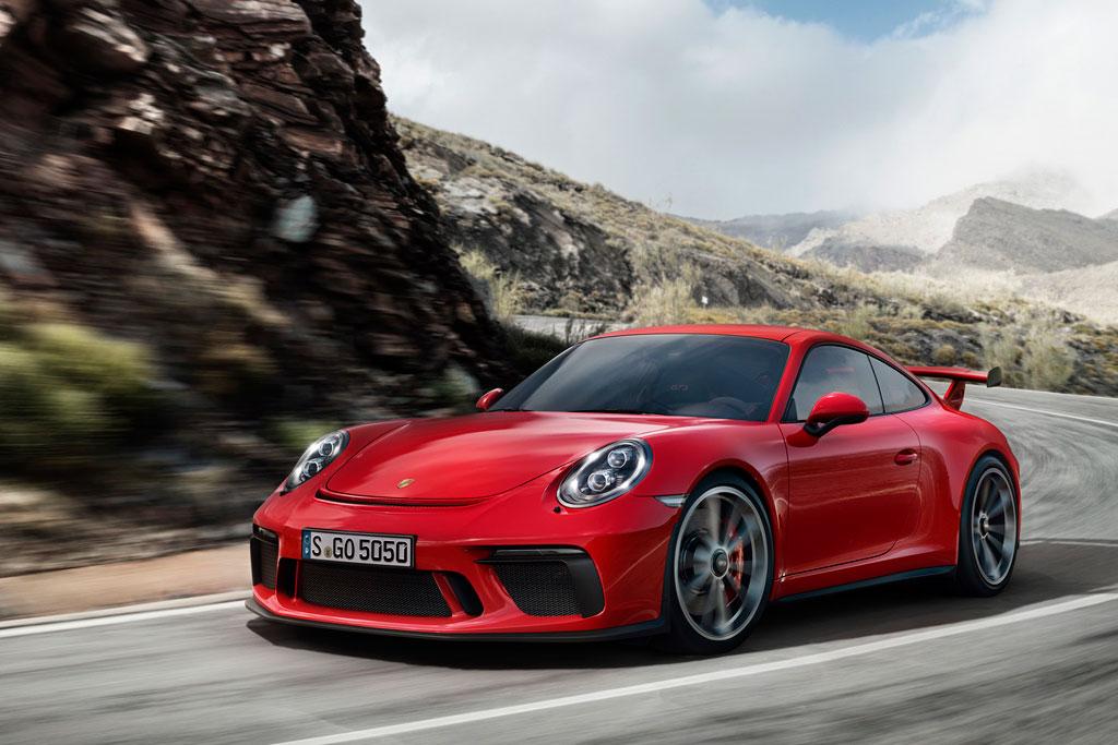 Обновленный Porsche 911 GT3