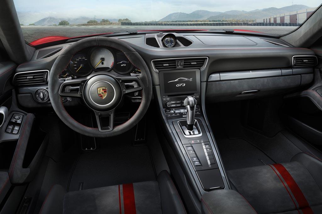 Салон Порше 991.2 GT3