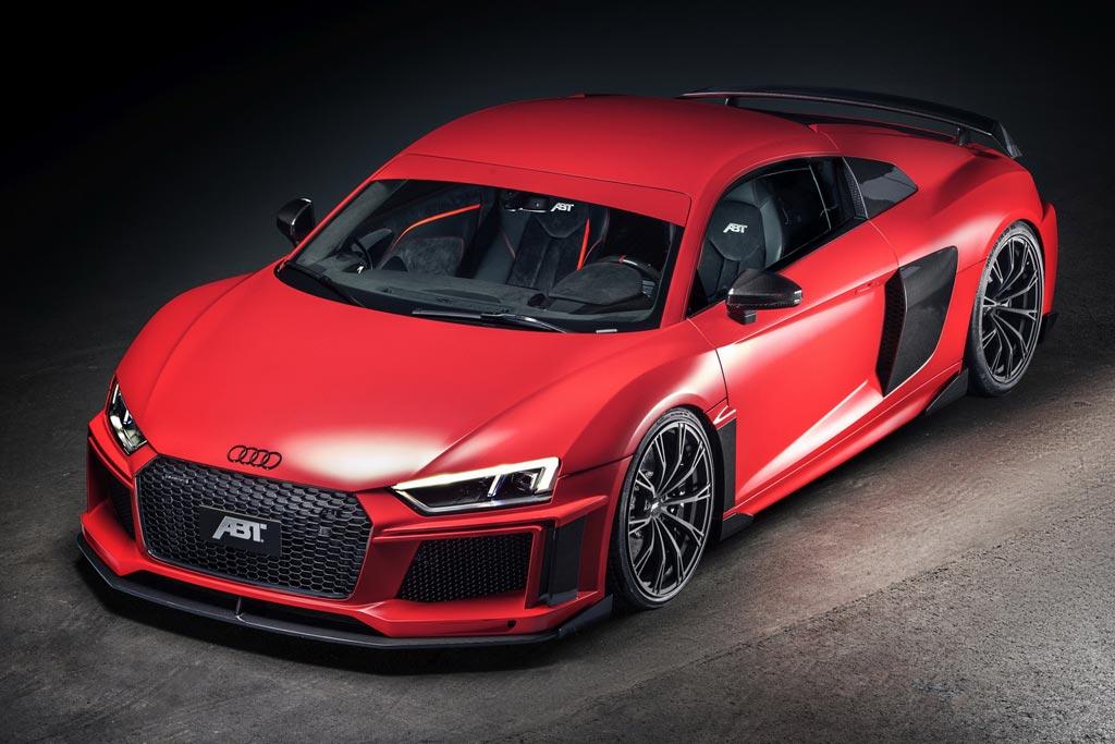 Audi R8 V10 plus от ABT Sportsline