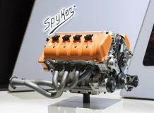Двигатель Koenigsegg для Spyker C8