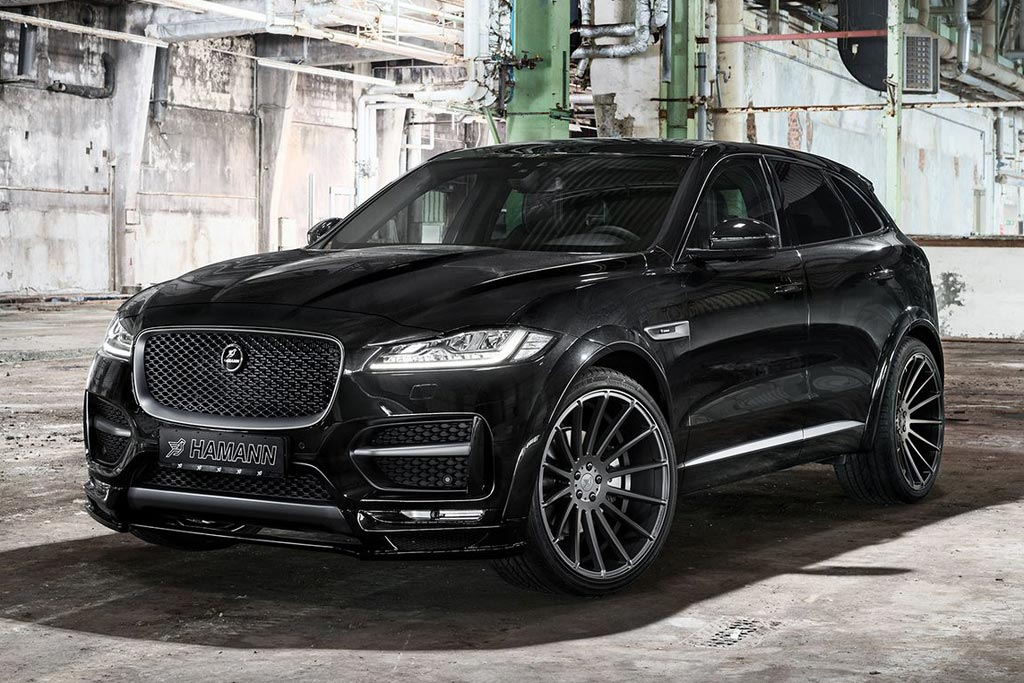 Jaguar F-Pace от ателье Hamann