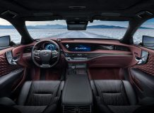 Фото салона Lexus LS 500h