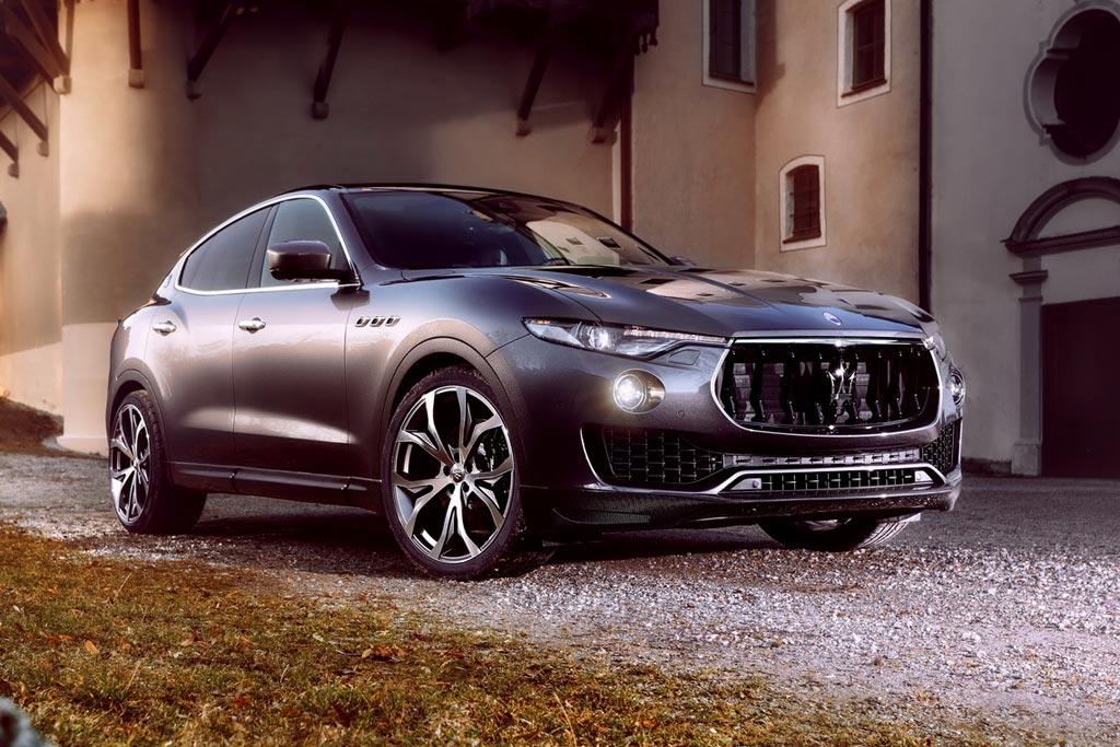 Maserati Levante в обвесе от Novitec