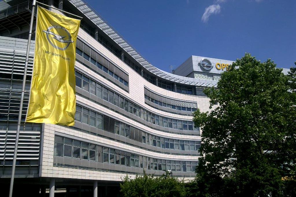 Штаб-квартира Opel в Германии