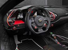 Тюнинг салона Ferrari 488 Spider от Mansory фото