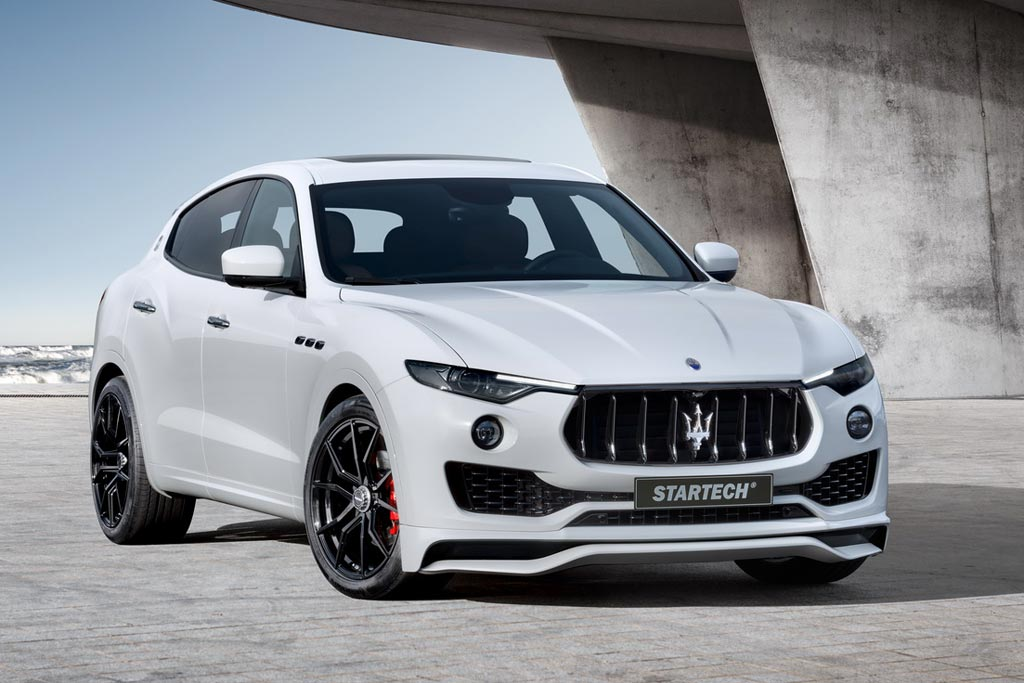 Maserati Levante в обвесе от Startech