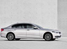 Фото удлиненной BMW 5 G30 Li