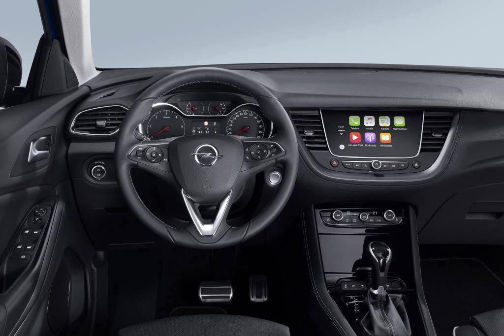 Салон Opel Grandland X