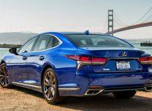 Новая модель Lexus LS F Sport фото
