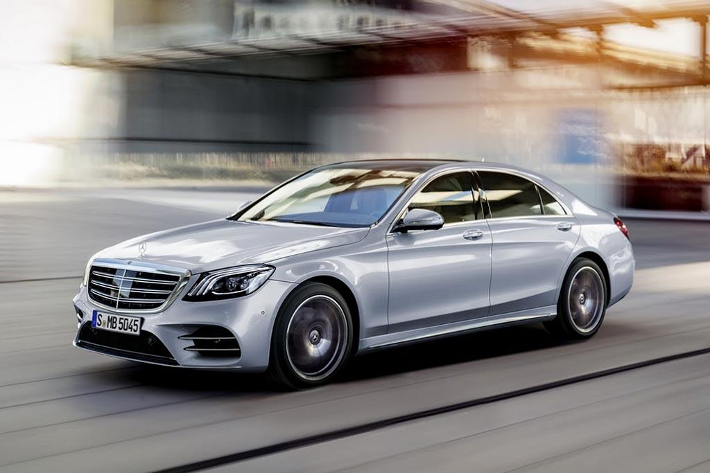 Новая модель Mercedes S-Class 2018