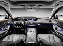 Фото салона Mercedes S-Class 2018