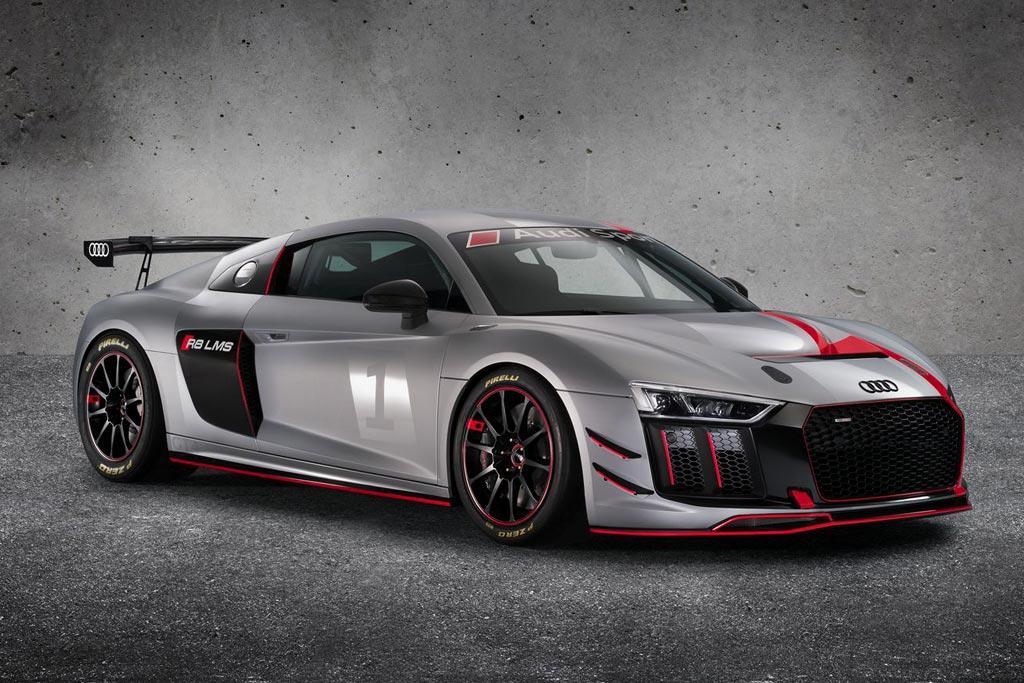Трековый Audi R8 LMS GT4