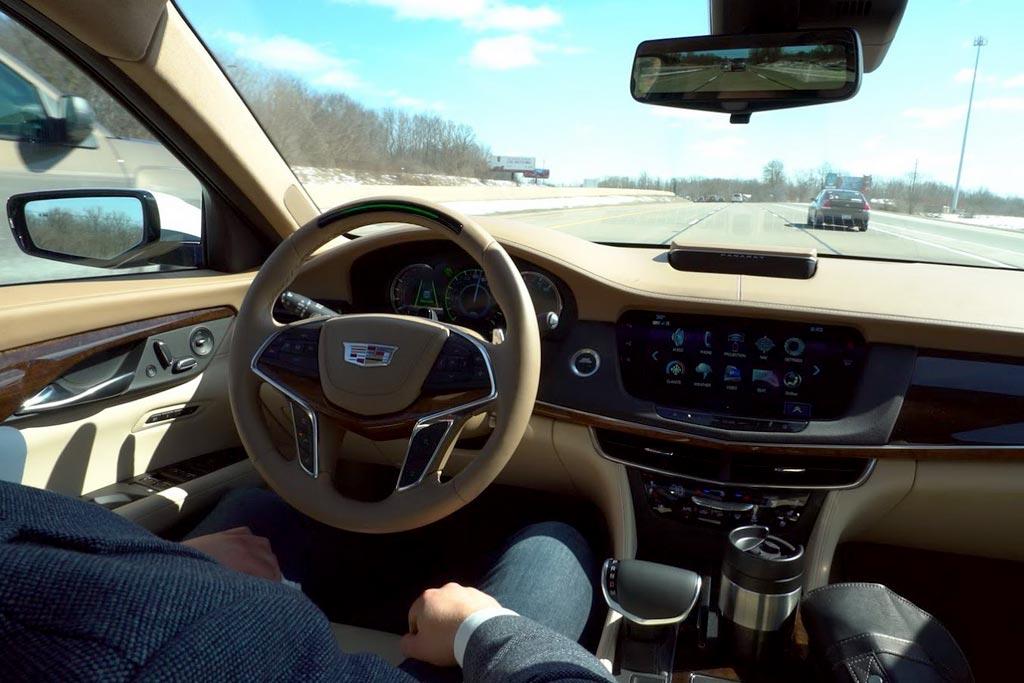 Cadillac CT6 с системой Super Cruise