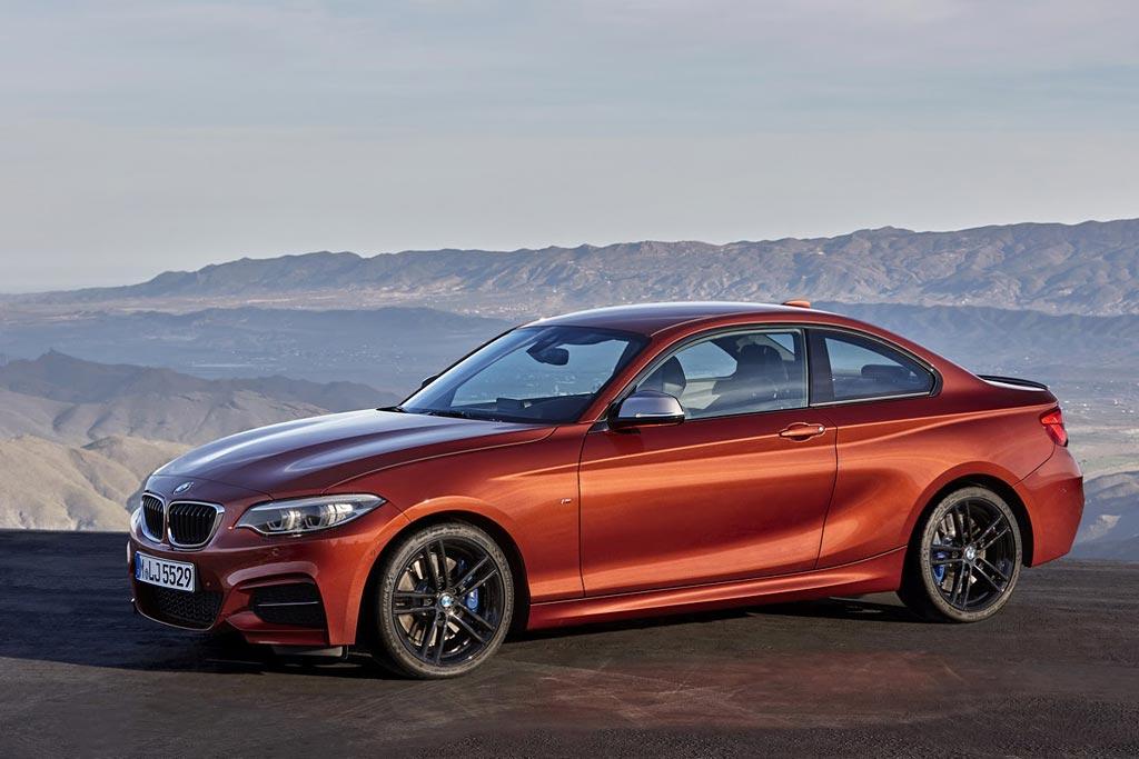 Обновленная BMW 2-Series 2018