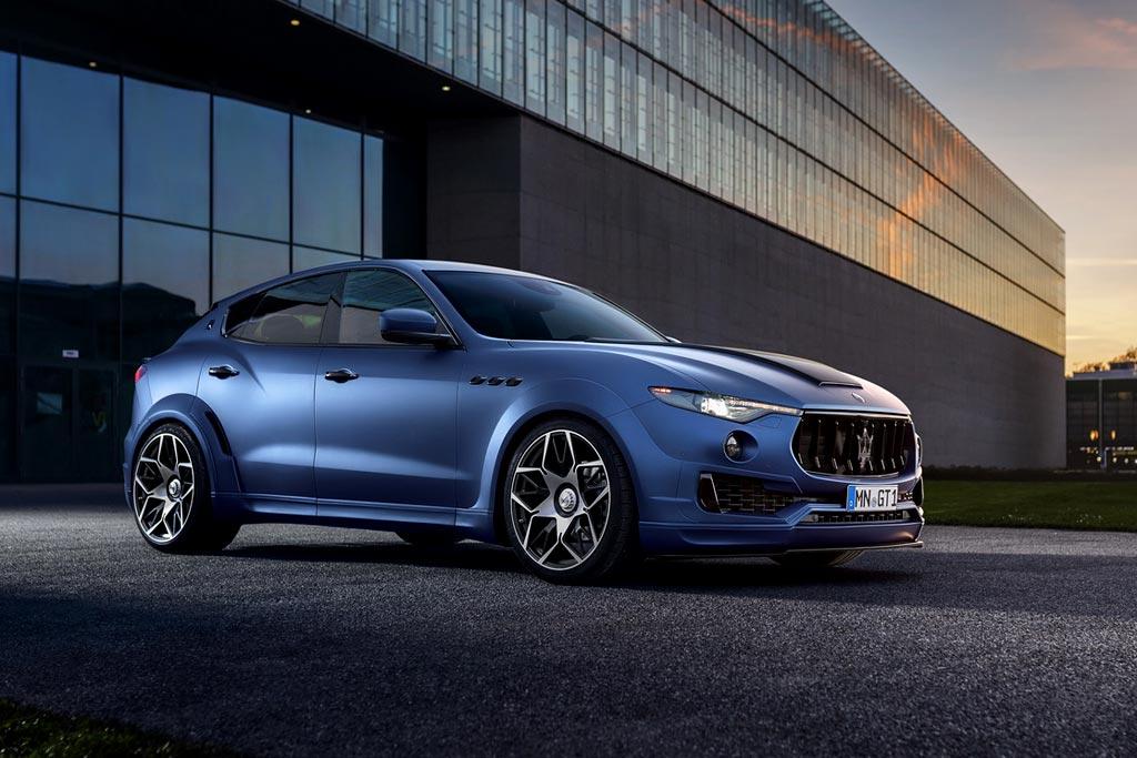Maserati Levante в обвесе Esteso