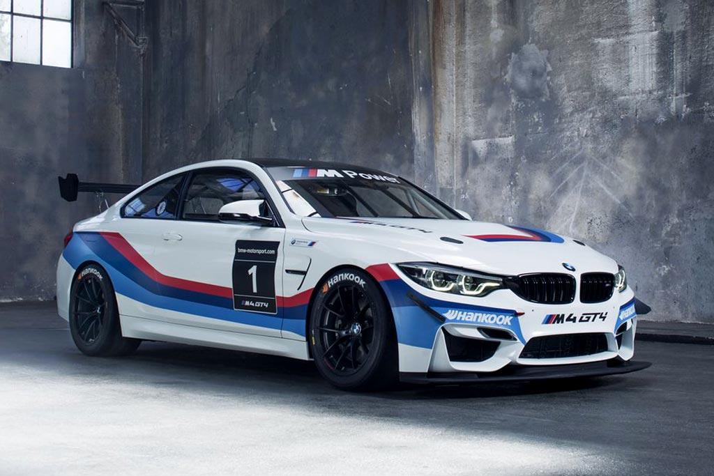 Гоночное купе BMW M4 GT4