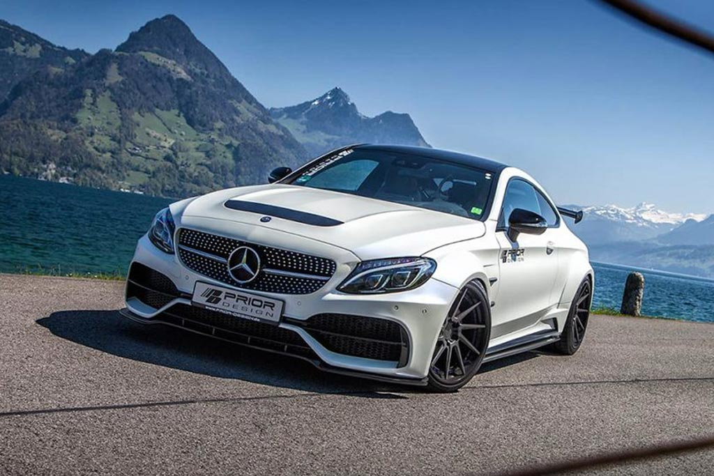 Mercedes-AMG C63 Coupe в обвесе от Prior Design