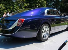 Фото купе Rolls-Royce Sweptail