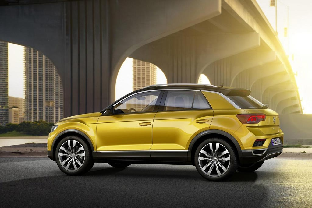 Новый Volkswagen T-Roc фото