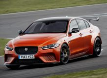 Фото нового Jaguar XE SV Project 8