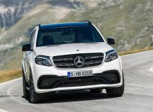 Mercedes-AMG GLS 63 2017 фото